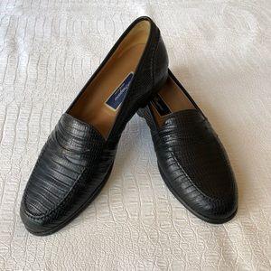 Cole Haan lizard loafers